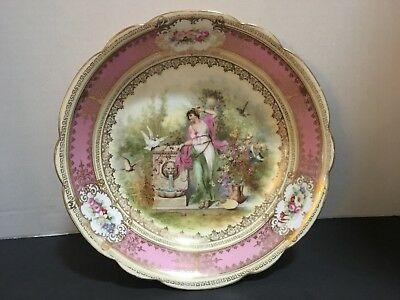 SALE !!! Imperial Crown Austrian Hand Painted Bowl