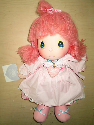 Vintage 1985 Precious Moments Girl Doll *jeannie* #4563 By Applause.