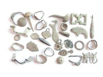 Lot of Misc. Ancient Bronze Artifacts $@$