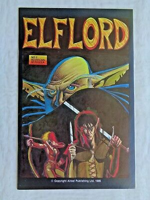Pick/'em 1986-88 Elflord Volume//Series 2 VF-NM Multiple Back Issues Aircel Comics