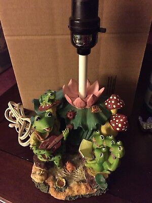 Guitar table lamp 4000 picclick vintage frog table lamp aloadofball Images