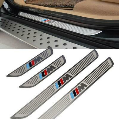 4pcs Stainless Door Sills Kick Scuff Plate Guard for BMW X5 E70 X6 E71 2007-2015