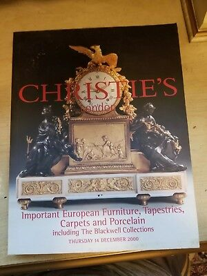 Christie's auction catalog  Important European furniture, tapestries, & carpets