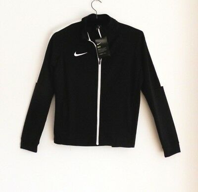 Nike Dri- Fit Academy Black & White Tracksuit Top Youth 12-13 Years Bnwt