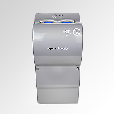 2x DYSON AIRBLADE HAND DRYER AB14 IN SILVER
