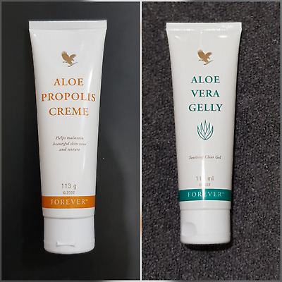 Forever Living Propolis Creme & Aloe Vera Gelly 113g-free uk delivery