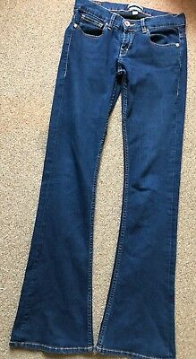 Womens Ted Baker Jeans Bangkok Blue Bootcut W26 L32