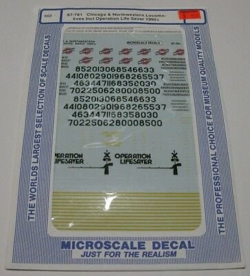 Microscale decals 87-772 Santa Fe Thrall 5 unit articulated double stack   K94