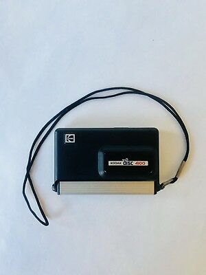 Kodak Disc 4100 Disc Camera with Wrist Strap Photography Photo Vintage Retro
