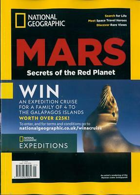 National Geographic Special 2018 ~ Mars - Secrets Of The Red Planet ~ New ~