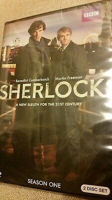 Sherlock: Complete Series 1 (DVD, 2010, 2-Disc Set) BRAND NEW, Factory Sealed