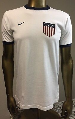 66f6427b3a7 Nike Clint Dempsey Team USA Olympics World Cup Player Jersey T Shirt Large  Slim