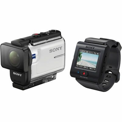 SONY HDRAS300R Action Cam with Wi-Fi, GPS and Live-view Remote Kit (Seconds)