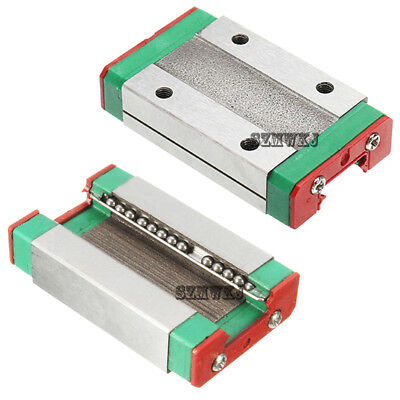 MGN12H Steel Sliding Block Carriage for Linear Guide Rail CNC XYZ 3D Printer DIY