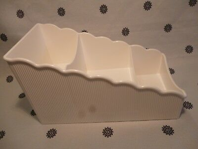 Tupperware Place For Packets Pantry Storage White New