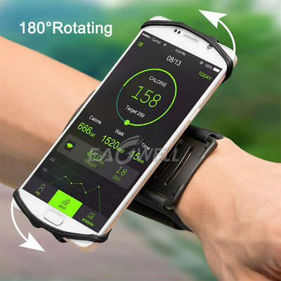 180° Sports Running Wrist Band Bag Case For Samsung Galaxy S8 S9 Plus Note 9 8