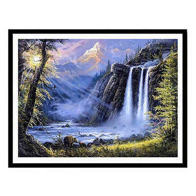 Full Drill 5D Diamond Painting DIY Mosaic Cross Stitch Kit Home Embroidery Decor