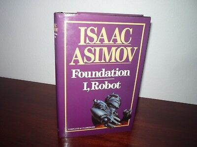 Foundation and I, Robot Isaac Asimov Hardcover
