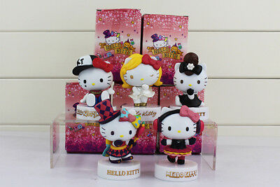 """Hello Kitty 3"""" Collectable Figurines 40th Anniversary Edition T-3"""