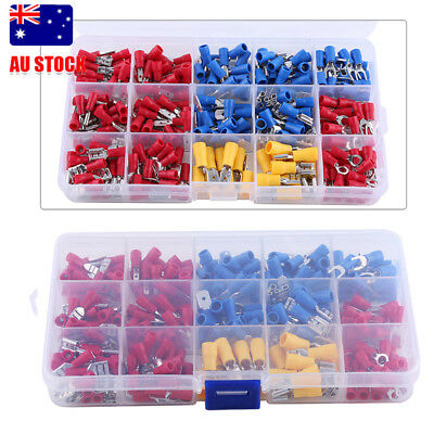 Hot 280X Assorted Crimp Terminals Set Insulated Electrical Wiring Connector Kit