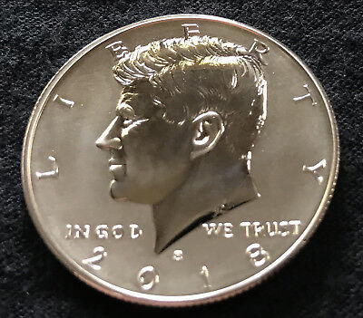 2018-S Reverse Proof Silver Kennedy Half LIGHT VARIETY 18XC * Ships FREE *