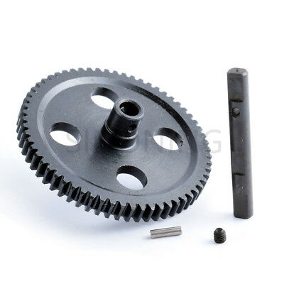 Metal Spur Differential Main Gear 62T For WLtoys 12428 12423 1/12 RC Car
