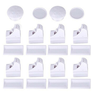 FABE Magnetic Cupboard Locks for Baby Safety Child Proofing (8 Locks + 2 Ke O8B5