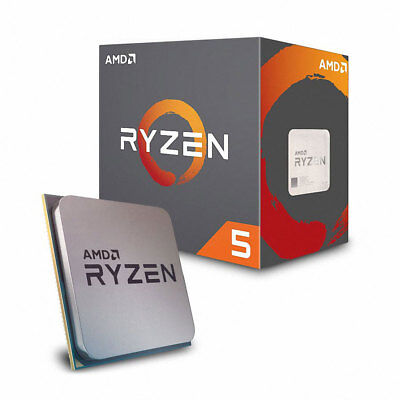 AMD RYZEN 5 2600X 6 Core 3.6GHz 16MB Socket AM4 Desktop Processor CPU