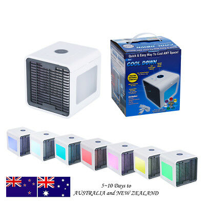 Portable Mini Air Conditioner Humidifier USB Power Supply Fan Cooling Cooler