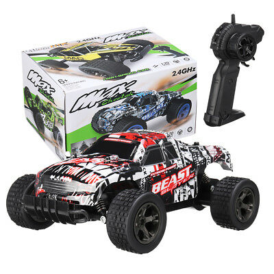 1:20 High speed RC Trucks 2.4GHz Remote Control Electric Off-Road Monster Truck