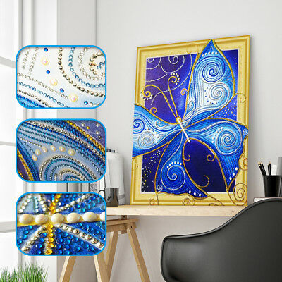 Diy 5d Diamond Embroidery Special Shaped butterfly Diamond Painting decor  X