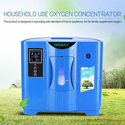 Portable Oxygen Concentrator Generator 2L-9L High Flow Oxygen Medical Home O5