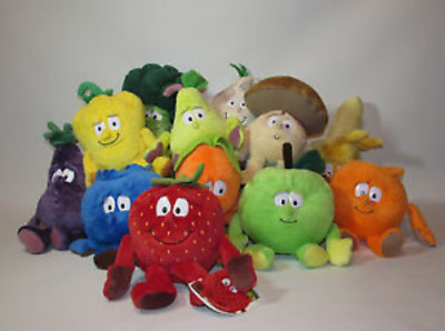 Co-op Goodness Gang Fruit & Vegetables Soft Plush Toys - Choose Character