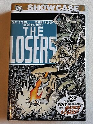 NM DC SHOWCASE THE LOSERS VOL. 1 (1st / 1st) 500 pages of comic!