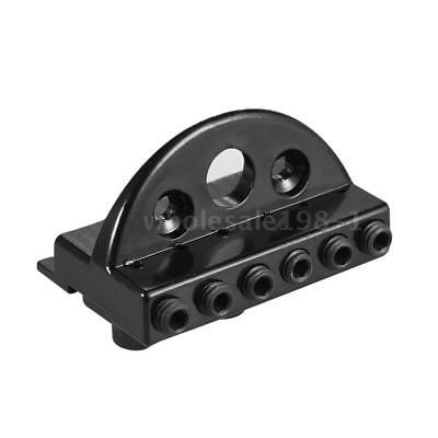 6-string Headless Electric Guitar String Locking Nut Set with 2 Wrench 2 Z2D3