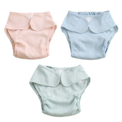 Baby Washable Reusable Cloth Diaper Nappies Pocket Nappy Cover Wrap DFG