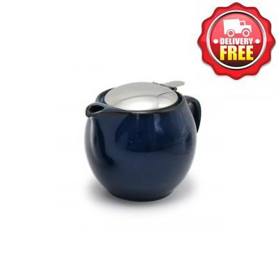 Zero Japan Jeans Blue Universal Infuser Teapot 450ml | Hand Made in Japan