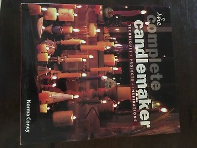 Candle Making Design, Project & Instruction Craft Book