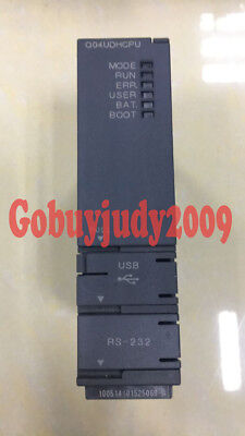 Used Mitsubishi MELSEC-Q Q04UDHCPU CPU Unit Tested It In Good Condition