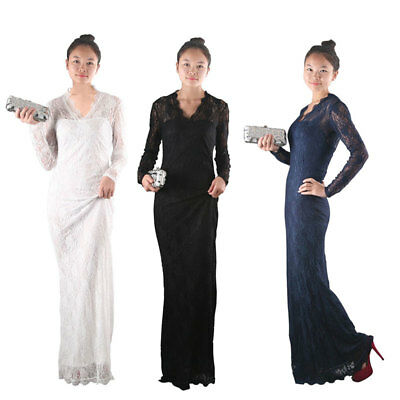 Cocktail Ball Party Evening Wedding Bridesmaid Long Ankle Mermaid Prom Dresses