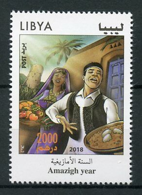Libya 2018 MNH Amazigh New Year Yennayer 1v Set Cultures Traditions Stamps
