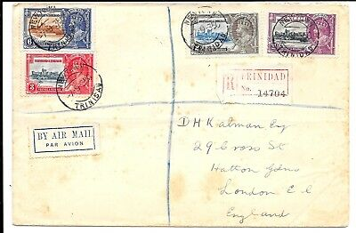 Trinidad 1935 Silver Jubilee Cancelled Newtown