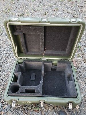 Hardigg 20 x 13 x 8 Hinged Lid Military Shipping Case Pelican Locker Chest Foot