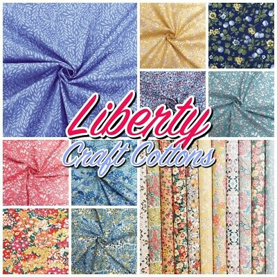 Liberty of London MIXED Floral Patterned Cotton Patchwork & Quilting Fabric