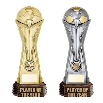 World Cup Player Of The Year Football Trophies 2 colours FREE Engraving