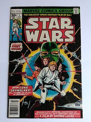 Star wars #1 first print 1977