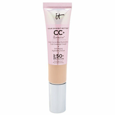IT COSMETICS Your Skin But Better CC+ Illumination Cream LIGHT SPF50+