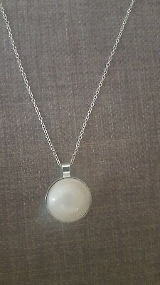 stainless  breastmilk Jewelry - Pendant Necklace - Keepsake/ Baby Shower Gift