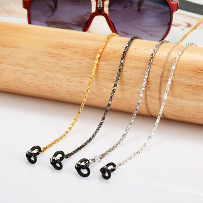 2PCS Eyeglass Sunglasses Glasses Reading Spectacles Cord Holder Necklace Chain