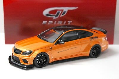 1:18 GT Spirit Mercedes C63 AMG LB Liberty Walk orange NEW bei PREMIUM-MODELCARS